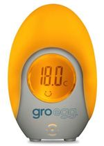 Gro-Egg Digital Room Thermometer & Baby Infant Night Light Lamp by The Gro Company